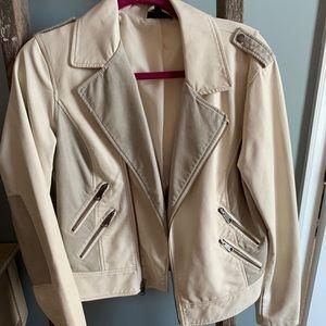Pleather jacket, brand new.